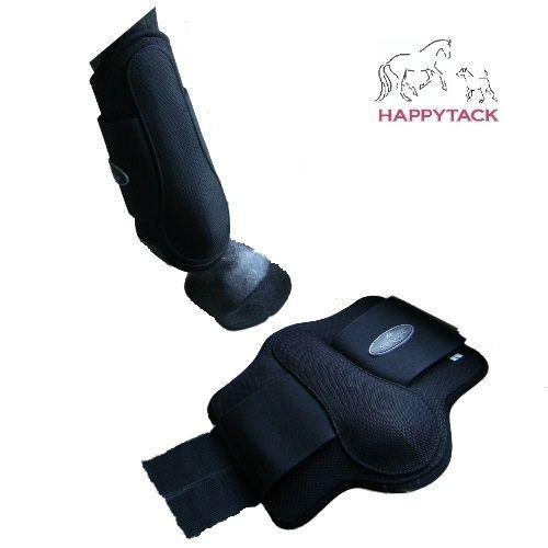 New Full Cob Pony Norton 1680D Black BALLISTIC Strong Brushing boots 530424