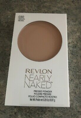Revlon Nearly Naked Pressed Powder | 010 Fair - Some