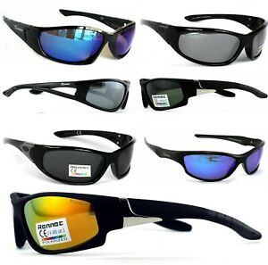 Rennec-Sonnenbrille-Polarisiert-Verspiegelt-Radbrille-Bikerbrille-Sportbrille