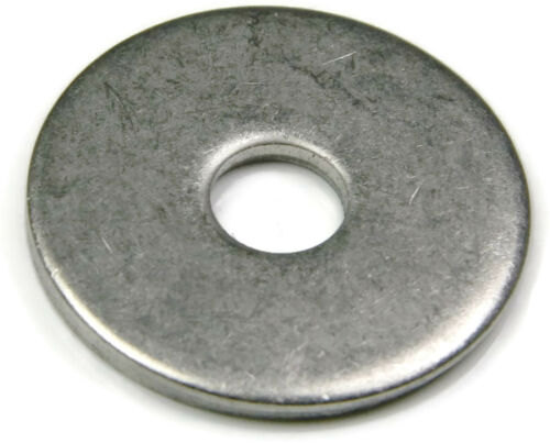 """Stainless Steel Fender Washers Extra Thick Washers SAE Inch Sizes 1//4/"""" 1//2/"""""""