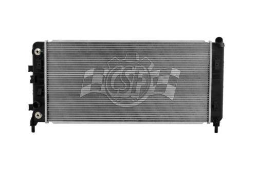Radiator-1 Row Plastic Tank Aluminum Core CSF 3262