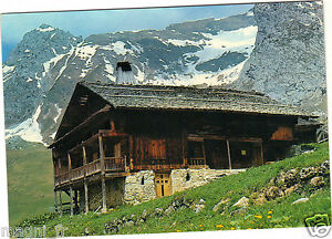 Fantasy - cpsm - Purity And Splendour Of Alpes - Old Chalet Of Mountain