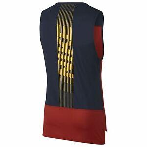 Nike-Pro-Nuovo-di-Zecca-Canotta-Da-Uomo-Taglia-M-L