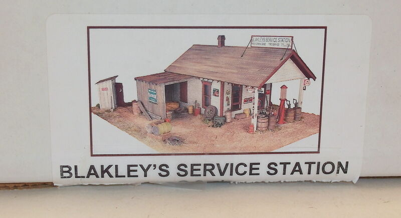 On3 On30 O CRAFTSMAN RAGGS TO RICHES  BLAKLEY'S GAS  KIT  COMPLETE UNSTARTEDa