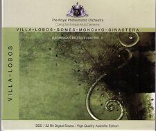 VILLA - LOBOS - GOMES - MONCAYO - GINASTERA | CD-Album im Schuber, 18 Titel