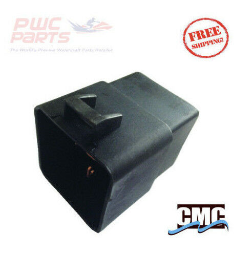 2PCS New Trim /& Tilt Relay Plug Socket cook Mfg 7493 12V 80-amp P//N 119-7493