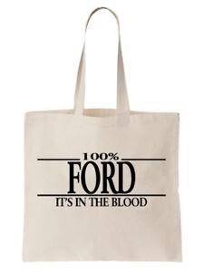 Ford-Family-Name-Tote-Shoulder-Bag-Shopper-Surname-Gift-Gift-Tree-Cool