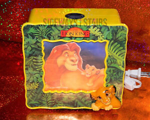 THE-LION-KING-NIGHTLIGHT-PROJECTOR-vintage-Disney-night-light-simba-rare-vtg-90s