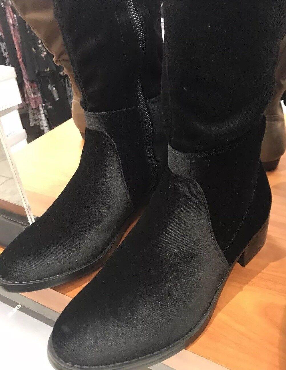 Avenue Damenschuhe Suede Over The Knee Stiefel 11w