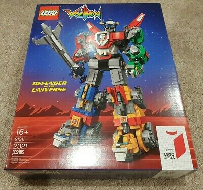 BRAND NEW Sealed Voltron 21311 Complete Set Instructions