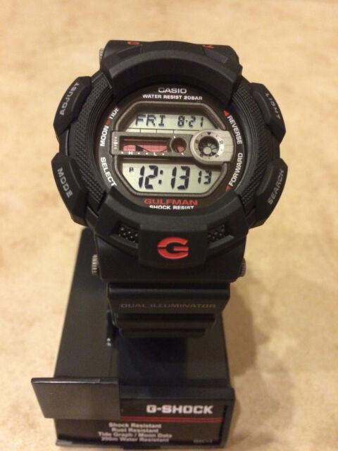 Casio Men's G-Shock Gulfman Watch G-9100-1 NEW IN BOX