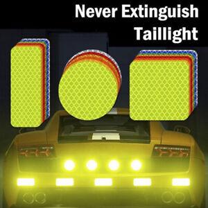 4PCS-Car-Reflective-Strips-Warning-Mark-Door-Bumper-Stickers-Reflector-Tape-ZD