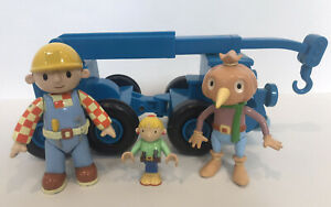 Carattere-Bob-the-Builder-Figure-Giocattolo-amp-Bundle-Bob-Lofty-Spud-Wendy