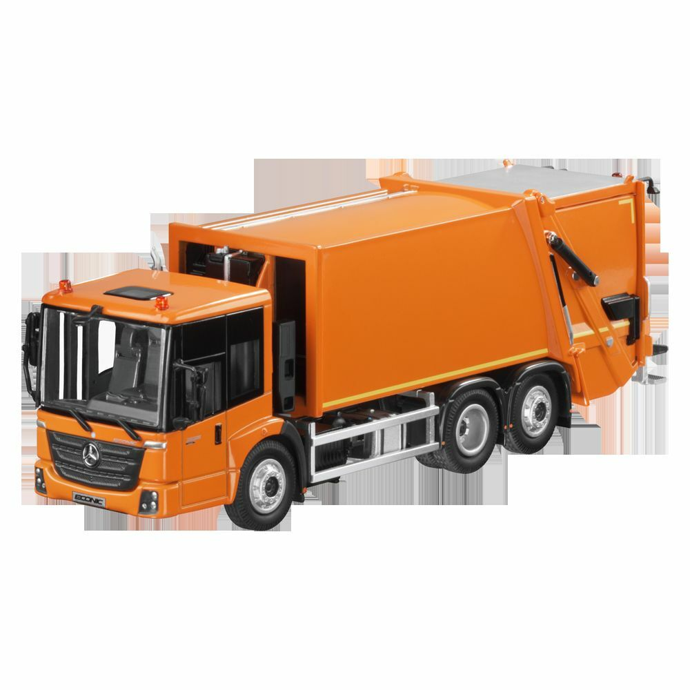 Mercedes - benz econic abfallbewirtschaftung   garbage collection Orange 1  50...