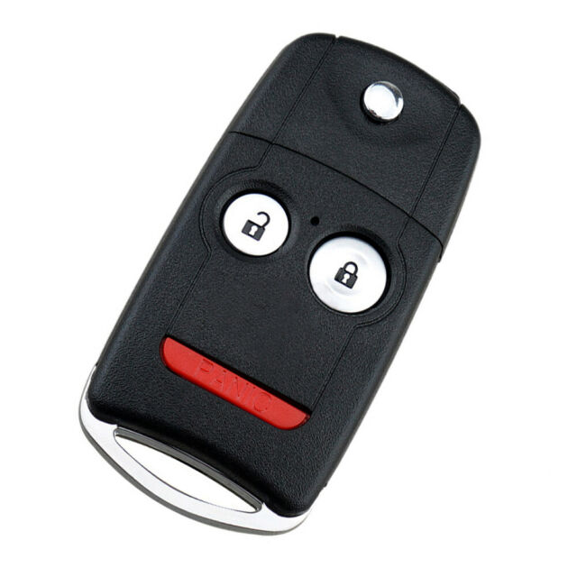 Remote Car Flip Key Fob Replacement For Acura MDX RDX 2007