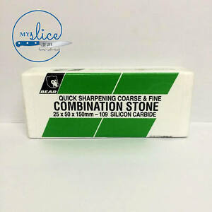 Bear-109-Combination-Sharpening-Stone-Coarse-Fine-25x50x150mm-Butcher-Knife