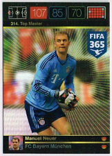 314.  Manuel Neuer Top Master  Panini Adrenalyn XL FIFA 365 World Top Teams
