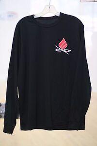 EKTELON DRY FIT LONG SLEEVE SHIRT in Black Mens size XL by AUGUSTA SPORTSWEAR