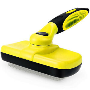 SELF-CLEANING-PET-DOG-CAT-SLICKER-BRUSH-GROOMING-FOR-MEDIUM-AND-LONG-HAIR-PETS
