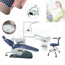 Dental Unit Chair Hard Leather Computer Controlled Dc Motor Ampchair Stools Ce Fda
