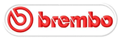 BREMBO iron-on patch ricamate