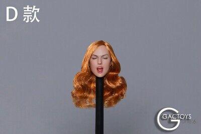 1//6 Female Head Sculpt GC021 B DETACHABLE TONGUE For 12/'/' Female Doll PHICEN