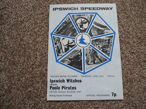 IPSWICH v POOLE 22673 speedway programme - Worksop, Nottinghamshire, United Kingdom - IPSWICH v POOLE 22673 speedway programme - Worksop, Nottinghamshire, United Kingdom