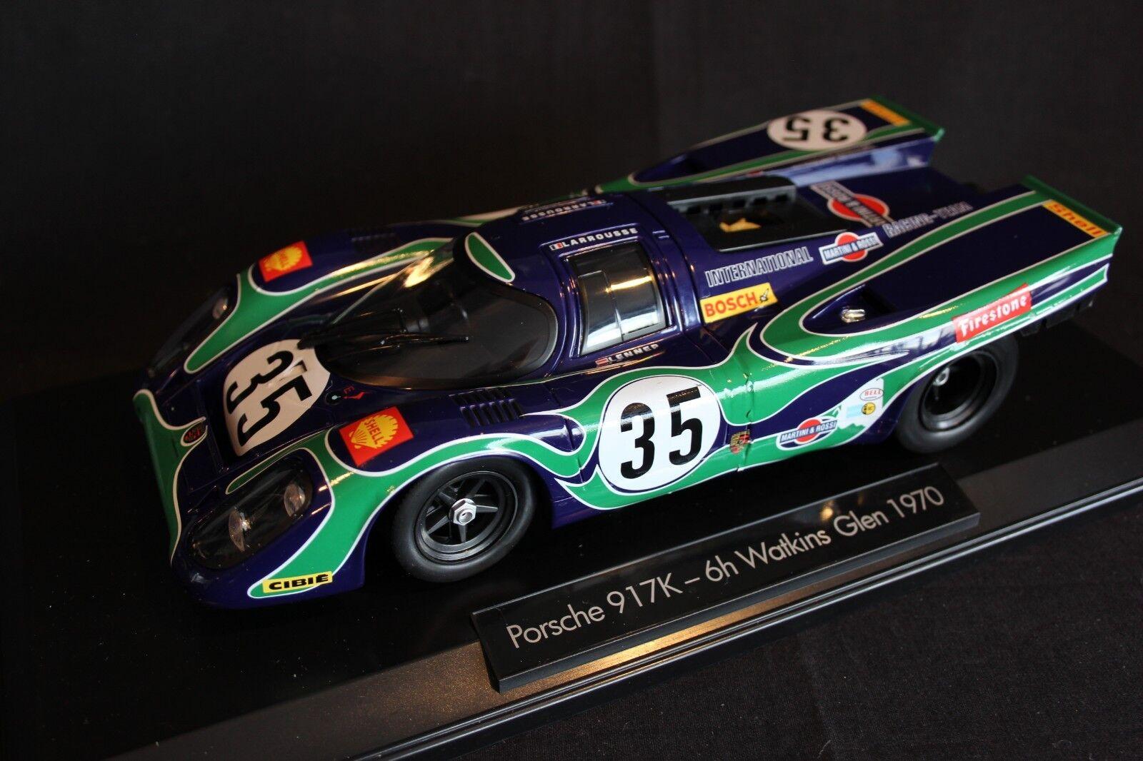Norev Porsche 917  K 1970 1 18  2 van Lennep   Larousse 6h Watkins Glen 1970  acheter en ligne