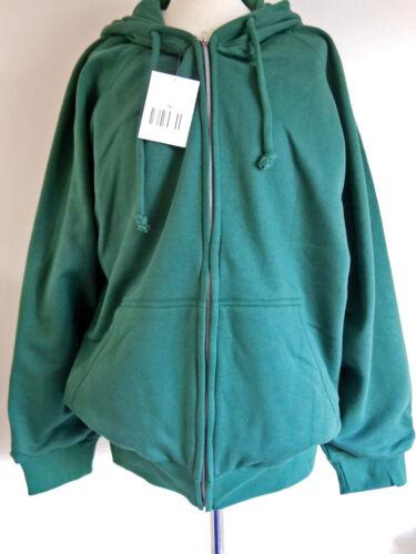 thermal lined,hooded,zipped workwear green sweatshirt m-6xl,Snap n/' wear USA