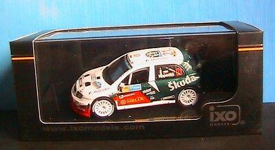 Skoda Fabia Wrc #21 Rally Catalunya 2006 Kopecky Ixo