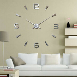 3D-DIY-Wall-Clock-Home-Modern-Decoration-Crystal-Mirror-Stickers-Living-Room-MW