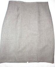 Jupe  crayon CHANTAL ROSNER marron-clair chiné 36 38 modèle ZAZIE  NEUVE Mode