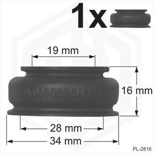 Ball-joint-rubber-boot-dust-cover-universal-1-x-19x28x16-track-rod-end-Car-Van