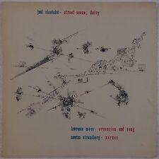 JOEL CHADABE: Street Scene AVANT GARDE Electronic OPUS ONE Vinyl LP NM