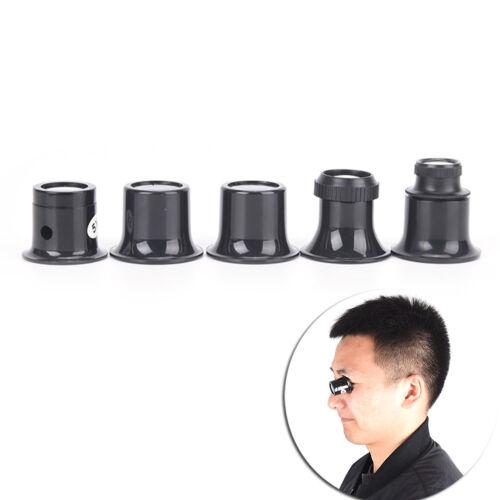 Monokulare Lupe Lupe Uhr Schmuck Reparatur Werkzeuge Lupe Objektiv /_prYEDE