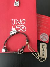 Uno De 50 Adjustable Peace Charm Bracelet - NWT - K-Pax