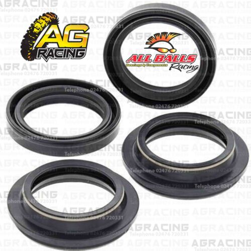All Balls Fork Oil Seals /& Dust Seals Kit For Yamaha XV 750 Virago 1982 82 New