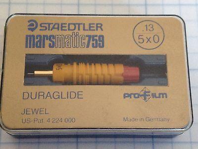 Staedtler Mars Matic 759 Mechanical Pen Point Jewel Tip Duraglide Nib New