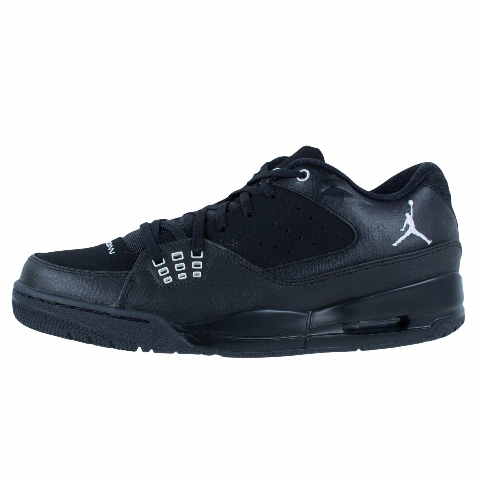 Seasonal price cuts, discount benefits Nike Jordan SC-1 Low Black Leather 599929-010 Shoes Men