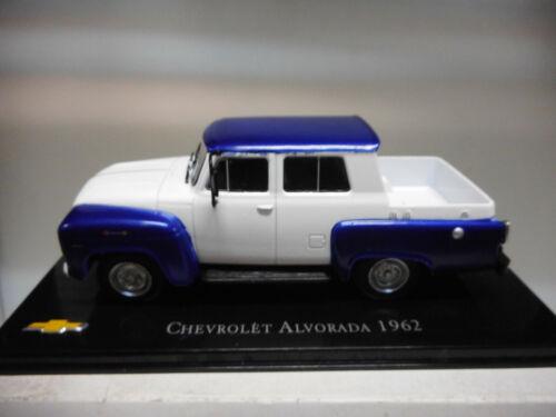 CHV 06 CHEVROLET ALVORADA 1962 BRASIL SALVAT 1//43