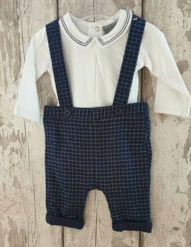 Spanish Romany Style Baby Boy Checked Trouser Set outfit