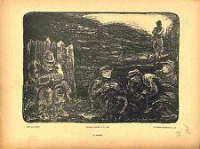 Le Sommeil du Poilus Soldats Tranchées Bataille de la Marne de Laborde 1915 WWI