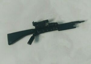 GI Joe Weapon Grunt M16 Gun FROM BATTLE GEAR 1982 1983 Original Figure Accessory