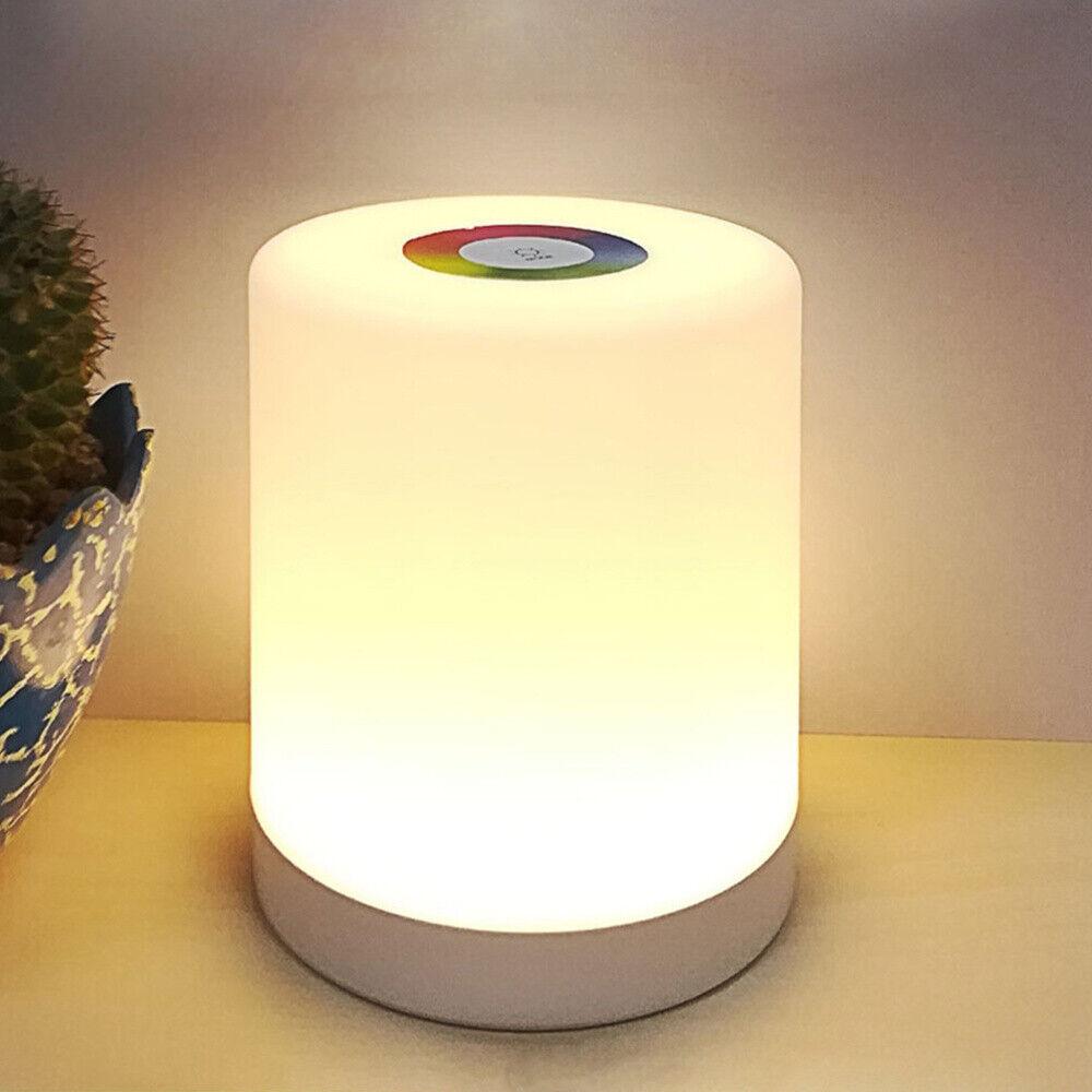 Trio LED On//Off  Touch Tischleuchte 1x4W LED rostfarbig antik 574090128 Glas mat