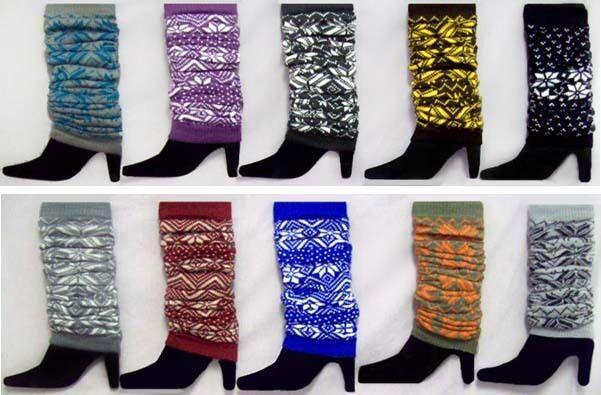 Women Leg Warmers - Women Winter Socks Wholesale 6 Pairs  ( Hs1810^)