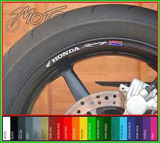 8 x HONDA Racing HRC CERCHIONE Decalcomanie - FIREBLADE cbr vfr vtr 1000RR 600RR