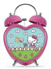Hello Kitty Heart Shaped Alarm Clock - Gift Boxed PHD2163GB