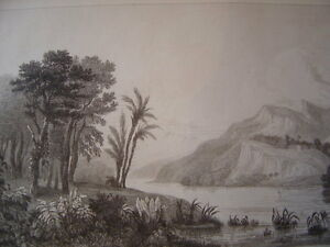 Brasil-Brazil-River-of-Amazons-Engraving-on-Steel-of-1838-Amazonia