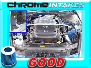 COLD AIR INTAKE for 02 03 04 05 06 NISSAN 350Z\Z33\FAIRLADY 3.5L V6 Black Blue