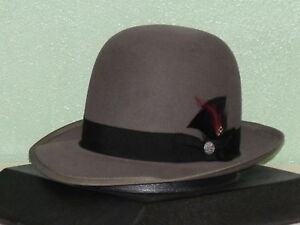 092fe4a83ab Image is loading STETSON-PREMIER-WHIPPET-OPEN-CROWN-SOFT-FUR-FELT-